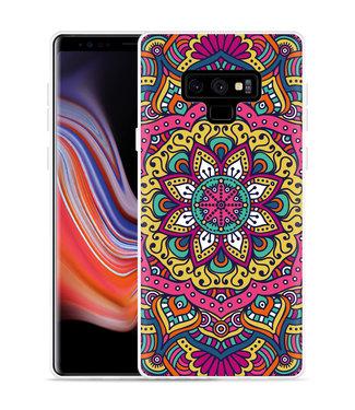 Just in Case Galaxy Note 9 Hoesje Mandala Hippie