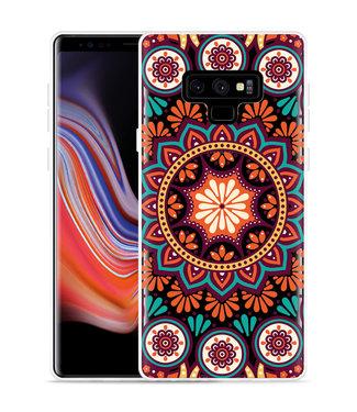 Just in Case Galaxy Note 9 Hoesje Retro Mandala