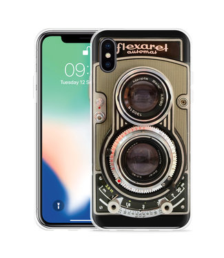 Just in Case Apple iPhone Xs Max Hoesje Flexaret Automat