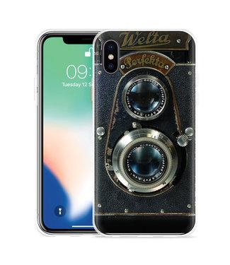Just in Case Apple iPhone Xs Max Hoesje Welta Perfekta