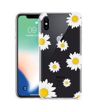 Just in Case Apple iPhone Xs Max Hoesje Madeliefjes