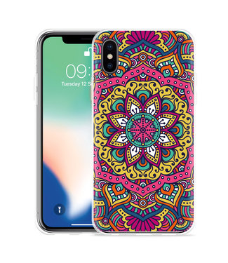 Just in Case Apple iPhone Xs Max Hoesje Mandala Hippie