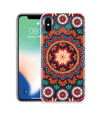 Just in Case Apple iPhone Xs Max Hoesje Retro Mandala