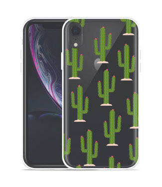 Just in Case Apple iPhone Xr Hoesje Cactus