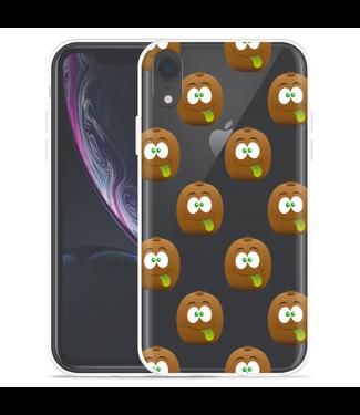 Just in Case Apple iPhone Xr Hoesje Crazy Kiwi