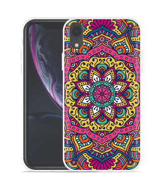 Just in Case Apple iPhone Xr Hoesje Mandala Hippie