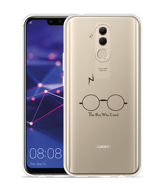 Just in Case Huawei Mate 20 Lite Hoesje The Boy Who Lived