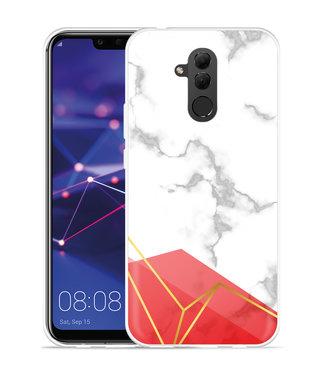 Just in Case Huawei Mate 20 Lite Hoesje Trendy Marmer