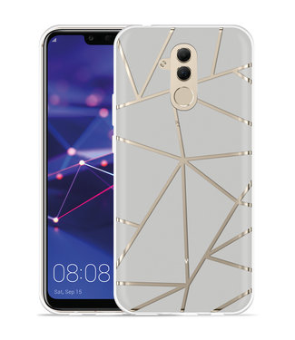 Just in Case Huawei Mate 20 Lite Hoesje Triangles