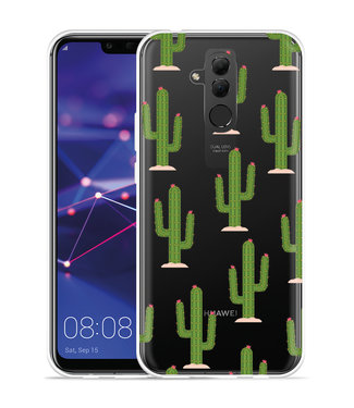 Just in Case Huawei Mate 20 Lite Hoesje Cactus