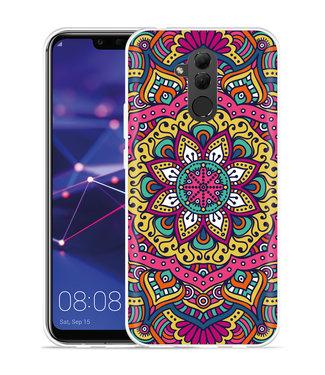 Just in Case Huawei Mate 20 Lite Hoesje Mandala Hippie
