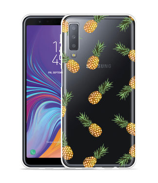 Just in Case Galaxy A7 2018 Hoesje Ananas