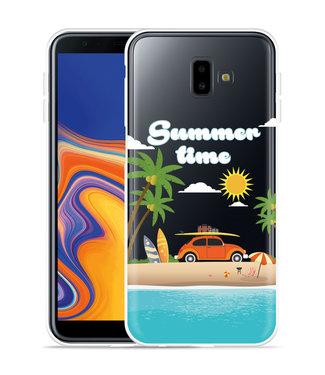 Just in Case Galaxy J6 Plus Hoesje Summer Time
