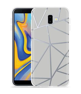 Just in Case Galaxy J6 Plus Hoesje Triangles