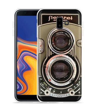 Just in Case Galaxy J6 Plus Hoesje Flexaret Automat