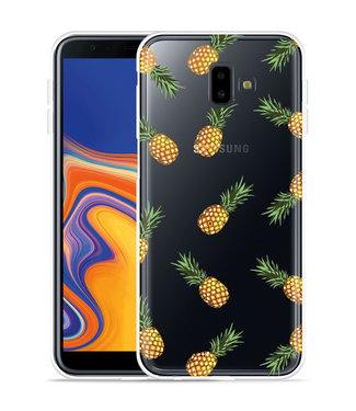 Just in Case Galaxy J6 Plus Hoesje Ananas