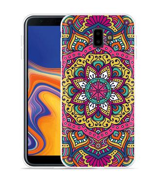 Just in Case Galaxy J6 Plus Hoesje Mandala Hippie
