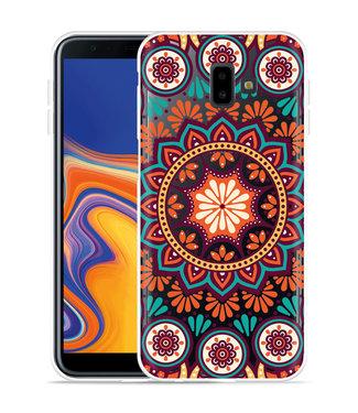Just in Case Galaxy J6 Plus Hoesje Retro Mandala
