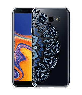 Just in Case Galaxy J4 Plus Hoesje Turqoise Mandala