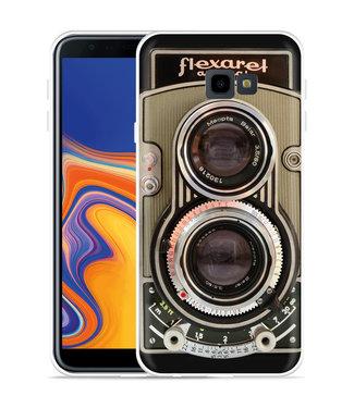 Just in Case Galaxy J4 Plus Hoesje Flexaret Automat