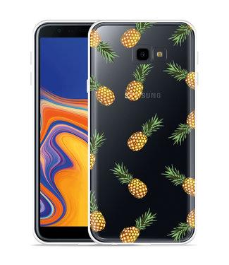 Just in Case Galaxy J4 Plus Hoesje Ananas