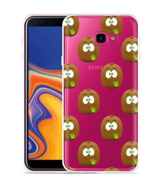 Just in Case Galaxy J4 Plus Hoesje Crazy Kiwi