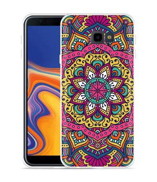 Just in Case Galaxy J4 Plus Hoesje Mandala Hippie