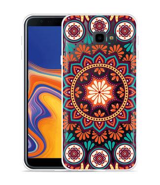 Just in Case Galaxy J4 Plus Hoesje Retro Mandala