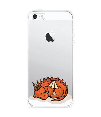 Just in Case iPhone 5/5S/SE Hoesje Sleeping Dragon