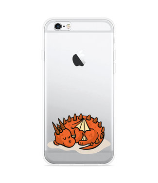 Just in Case iPhone 6 Plus/6S Plus Hoesje Sleeping Dragon