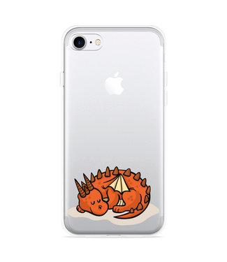 Just in Case iPhone 7 Hoesje Sleeping Dragon