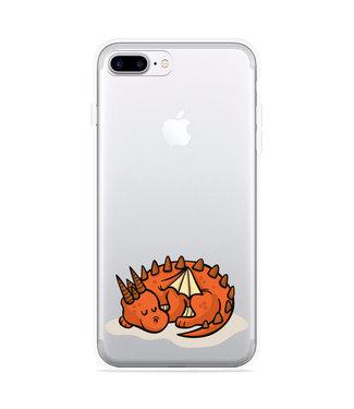Just in Case iPhone 7 Plus Hoesje Sleeping Dragon
