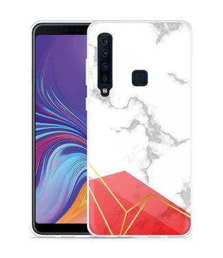 Just in Case Galaxy A9 2018 Hoesje Trendy Marmer