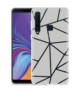Just in Case Galaxy A9 2018 Hoesje Triangles
