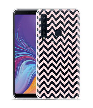 Just in Case Galaxy A9 2018 Hoesje Wavy Pink