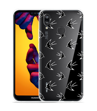 Just in Case Huawei P20 Lite Hoesje Swallows