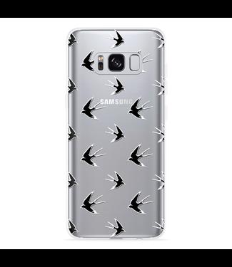 Just in Case Galaxy S8 Hoesje Swallows
