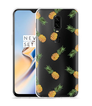 Just in Case OnePlus 6T Hoesje Ananas