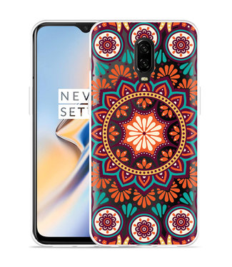 Just in Case OnePlus 6T Hoesje Retro Mandala
