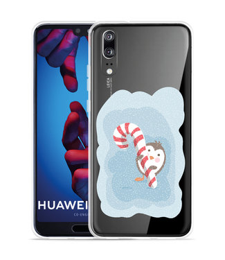 Just in Case Huawei P20 Hoesje Candy Pinquin