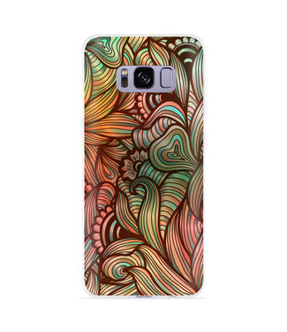 Just in Case Galaxy S8 plus Hoesje Abstract colorful