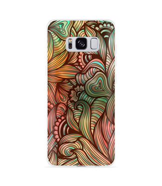 Just in Case Galaxy S8 Hoesje Abstract colorful