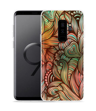 Just in Case Galaxy S9 Plus Hoesje Abstract colorful