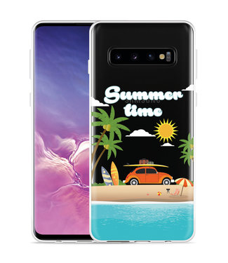 Just in Case Galaxy S10 Hoesje Summer Time