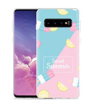 Just in Case Galaxy S10 Hoesje Sweet Summer