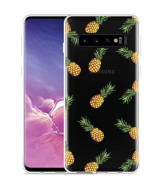 Just in Case Galaxy S10 Hoesje Ananas