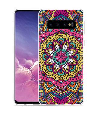 Just in Case Galaxy S10 Hoesje Mandala Hippie