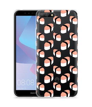 Just in Case Huawei Y6 2018 Hoesje Sushi