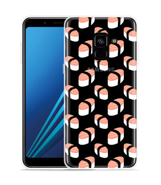 Just in Case Samsung Galaxy A8 Plus 2018 Hoesje Sushi