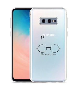 Just in Case Galaxy S10 Lite Hoesje The Boy Who Lived